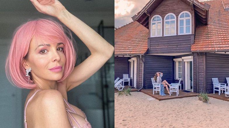 """Anna Wendzikowska relaksuje się na tle luksusowego hotelu w Sopocie: """"Wszystko jest jakieś inne w tej nowej rzeczywistości"""" (FOTO)"""
