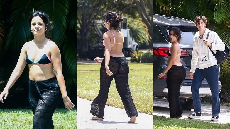 Wyluzowana Camila Cabello w bikini wyczekuje powrotu Shawna Mendesa (ZDJĘCIA)