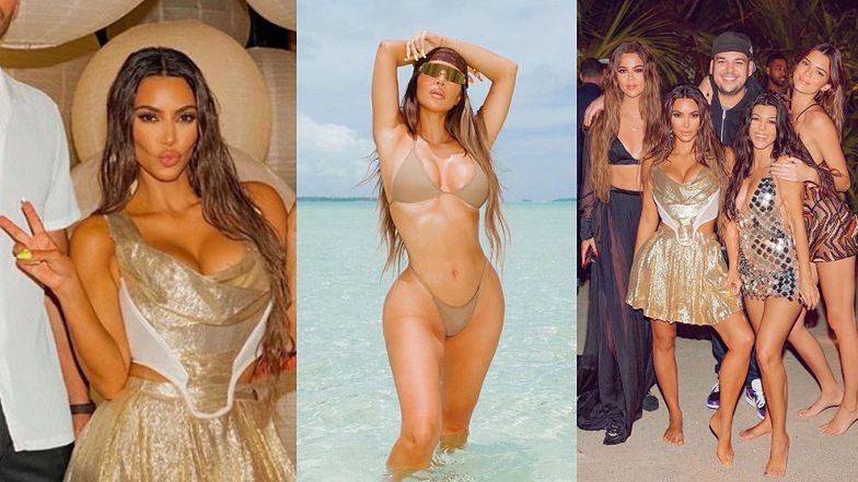 Kim Kardashian SKRYTYKOWANA za imprezę NA PRYWATNEJ WYSPIE podczas globalnej pandemii