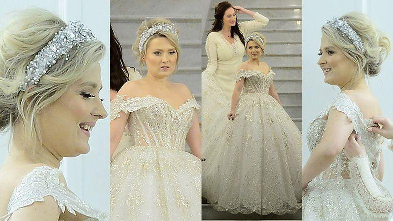 Gosia Andrzejewicz przymierza suknię ślubną za ponad 20 tysięcy złotych