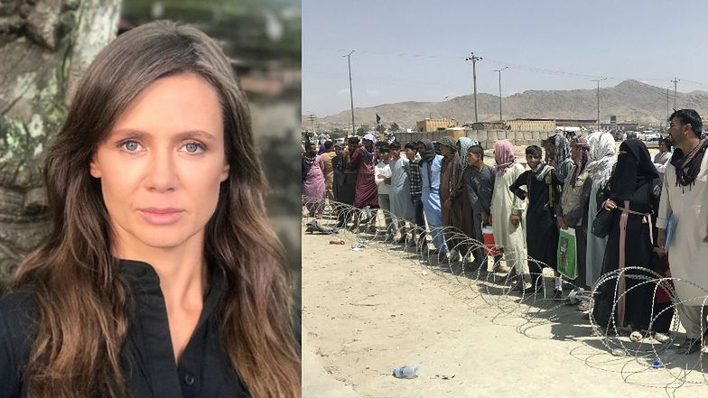 """Kinga Rusin o dramacie ludzi w Afganistanie: """"Na ulicach Kabulu POBITO JUŻ KOBIETY, które odważyły się wyjść bez burek"""""""