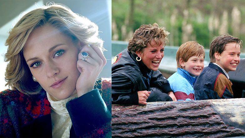 Są NOWE ZDJĘCIA Kristen Stewart jako księżnej Diany z małymi Williamem i Harrym!