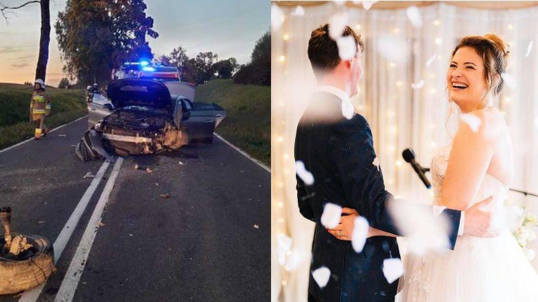 Tragiczny finał wesela znanej influencerki. Jej goście uczestniczyli w śmiertelnym wypadku samochodowym