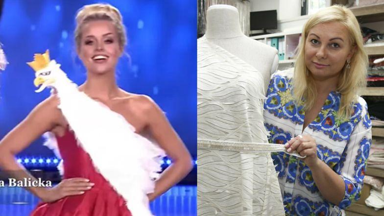"""Projektantka BRONI wypchanego orła na kreacji Miss Supranational 2021! """"Uważam, że suknia narodowa mojego projektu JEST PIĘKNA"""""""