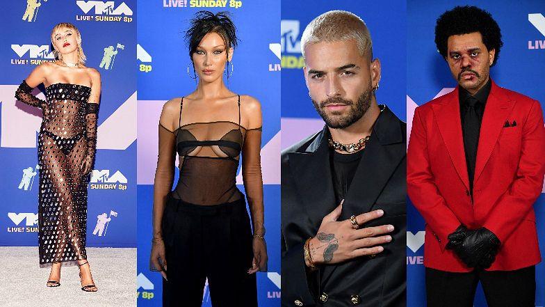Gwiazdy na rozdaniu MTV Video Music Awards