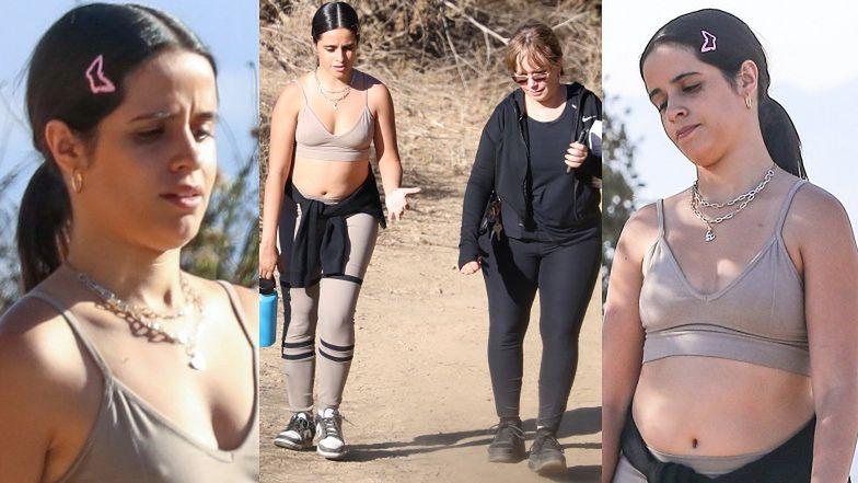 Camila Cabello DBA O KONDYCJĘ, przechadzając się po wzgórzach Los Angeles w towarzystwie mamy (ZDJĘCIA)