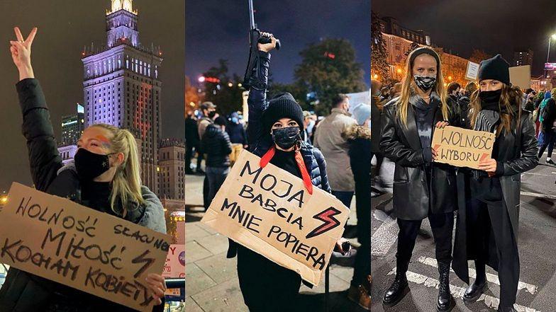 30 października na ulicach Warszawy pojawiły się tłumy protestujących w Strajku Kobiet, wśród nich wiele celebrytek