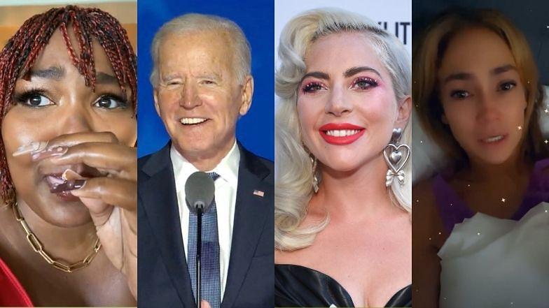 Gwiazdy gratulują Joe Bidenowi wygranej w wyborach prezydenckich
