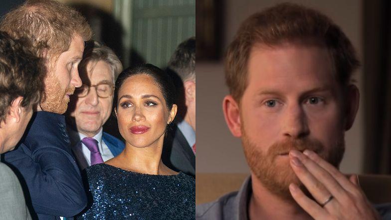 """Książę Harry szokuje wyznaniem: """"Meghan nie popełniła SAMOBÓJSTWA, bo nie chciała, żebym STRACIŁ KOLEJNĄ KOBIETĘ ŻYCIA"""""""