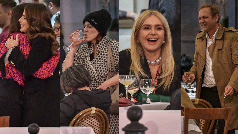 """Afterparty po premierze """"Śniegu już nigdy nie będzie"""": Weronika Rosati, Agata Kulesza, Monika Olejnik, Andrzej Chyra... (ZDJĘCIA)"""