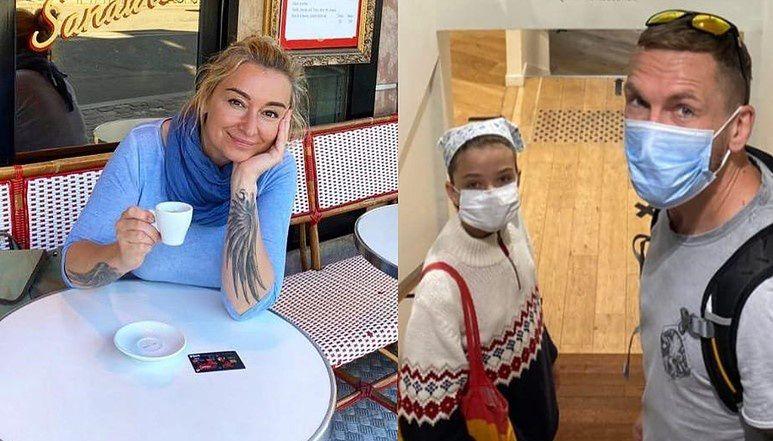 """Zakochana Martyna Wojciechowska zwiedza """"miasto miłości"""" z córką i Przemysławem Kossakowskim. Fanka: """"Żyć nie umierać"""" (FOTO)"""