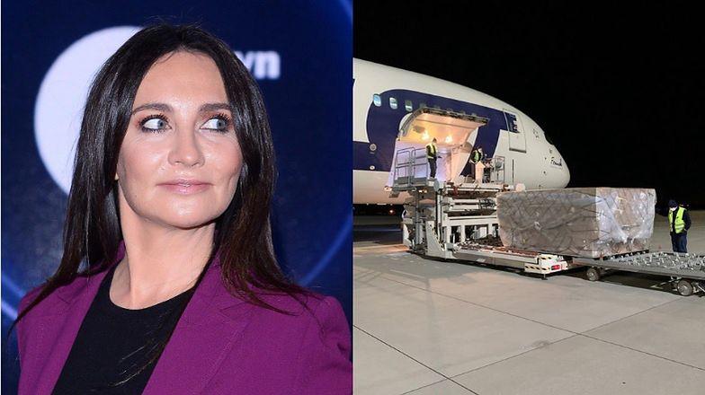 Drugi transport sprzętu ufundowanego przez Dominikę Kulczyk dotarł do Polski. Chińskie służby opóźniły akcję?