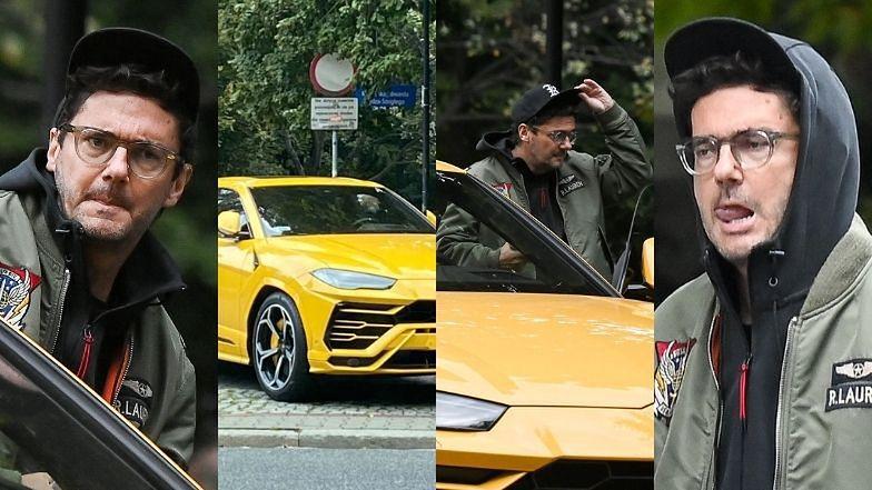 Kuba Wojewódzki parkuje na chodniku i wjeżdża na pasy autem za 1,5 miliona złotych (ZDJĘCIA)