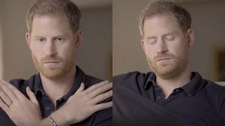 Książę Harry pokazuje, jak wygląda terapia, która chroni go przed NAPADAMI LĘKU