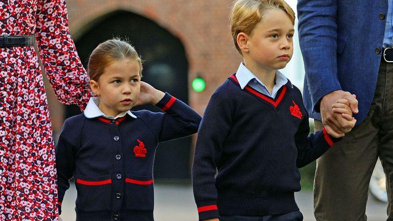 Księżniczka Charlotte i książę George uczęszczają do prestiżowej szkoły. Ujawniono menu elitarnej stołówki