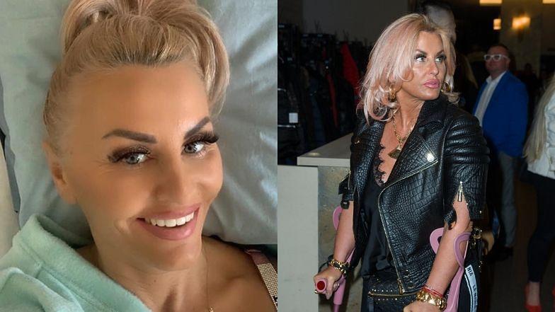 """""""Królowa życia"""" Dagmara Kaźmierska jest W SZPITALU! Przeszła kolejną operację: """"Dbajmy o siebie i innych"""" (FOTO)"""