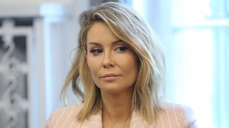 """Smutna Małgorzata Rozenek ubolewa nad """"odwołaną"""" Wielkanocą: """"Nie ma mojej porcelany, ozdób, nie ma też koszyczka"""""""