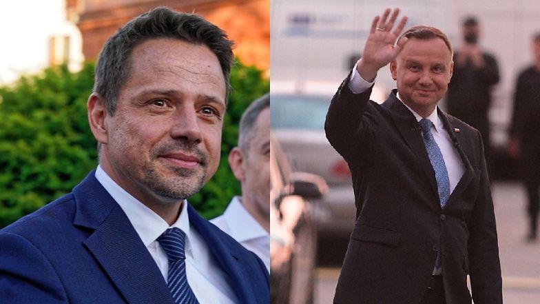 """Debaty 2020. Rafał Trzaskowski ostro o Andrzeju Dudzie: """"Jeśli ktoś próbuje NAPUSZCZAĆ Polki i Polaków na siebie, to ja mówię jasne """"nie"""""""""""
