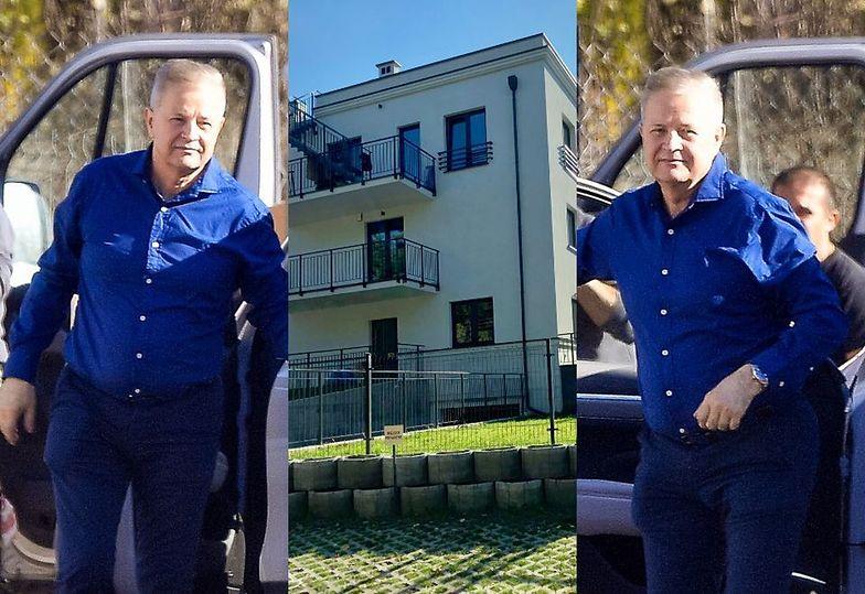 Apoloniusz Tajner kupił nowe mieszkanie