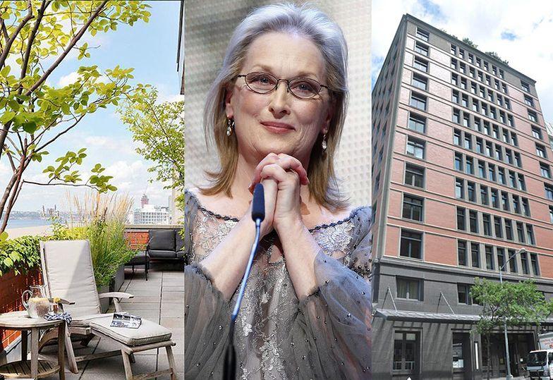 Tak wygląda apartament Meryl Streep na Tribece