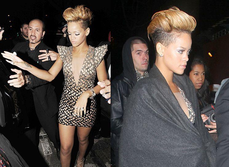 Rihanna rok po pobiciu... (ZDJĘCIA!)