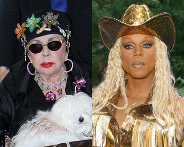 Liz Taylor uwielbia drag queen!