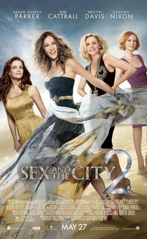 """RETUSZ ROKU - plakaty """"Seksu w wielkim mieście""""!"""
