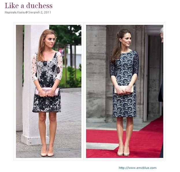 Kasia Tusk pozuje na... Kate Middleton! (FOTO)