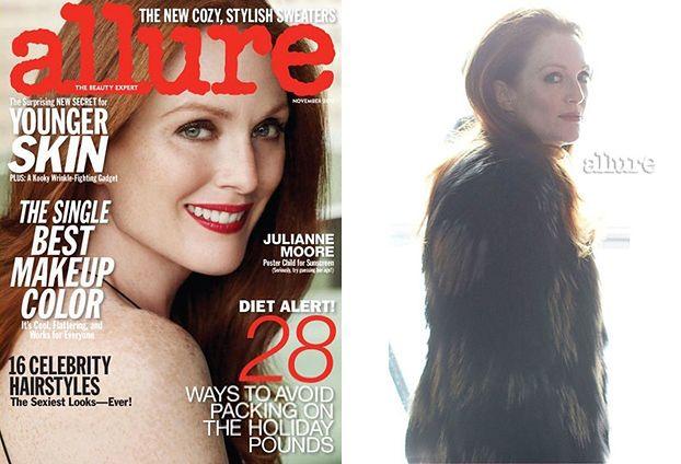"""Julianne Moore: """"Gwiazdy po operacjach wyglądają idiotycznie"""""""