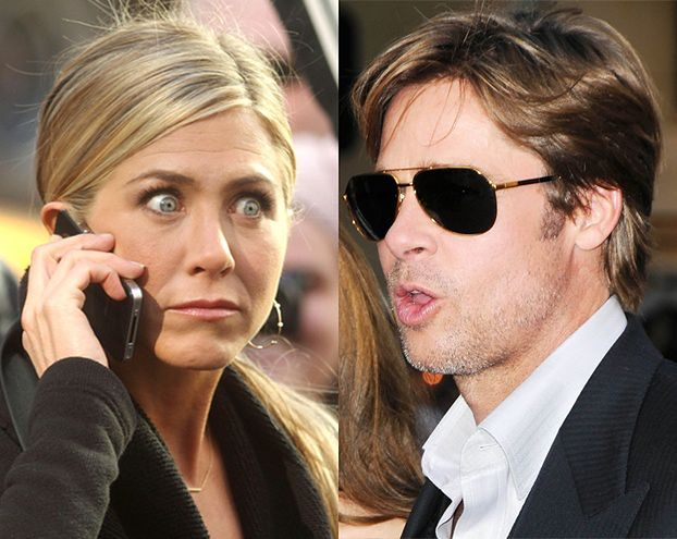 Skradziono prywatne zdjęcia Jennifer i Brada!