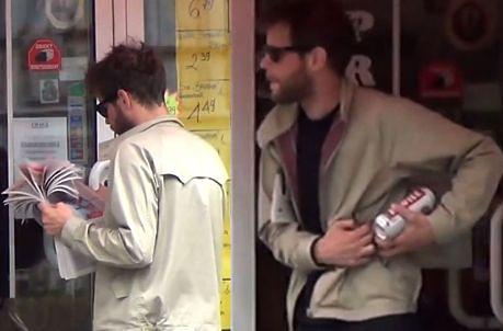Łukasz Garlicki kupuje piwo PRZED POŁUDNIEM...