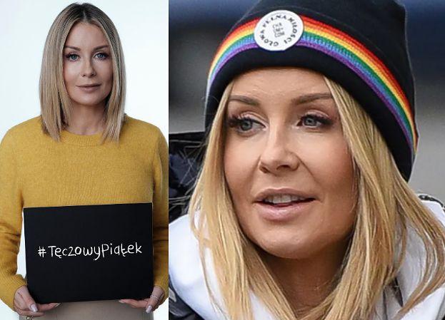 """Małgorzata Rozenek i inni celebryci wspierają LGBT w akcji Kampanii Przeciw Homofobii: """"Stoję po stronie młodzieży!"""""""