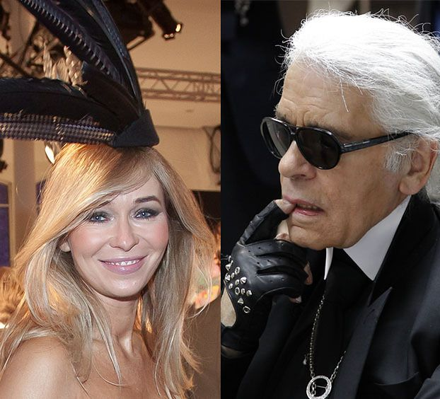 """Przetakiewicz o Lagerfeldzie: """"ZAKOCHAŁAM SIĘ W NIM! Jest jak ojciec"""""""