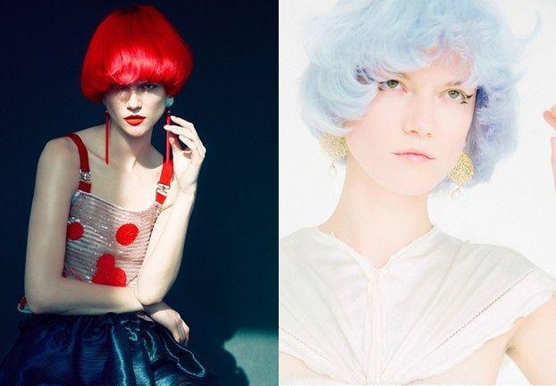 Kasia Struss w kolorowych włosach! Poznajecie?