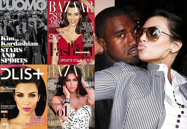 """Chcą zdjęcia Kim i North na OKŁADCE """"VOGUE'A""""!"""