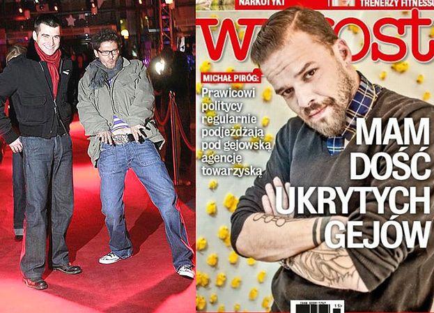 """Piróg chce """"wyoutować"""" Wojewódzkiego i Kammela? """"MAM DOŚĆ UKRYTYCH GEJÓW!"""""""
