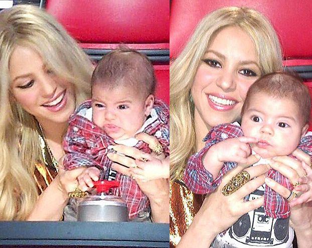 Shakira zabrała synka do telewizji!