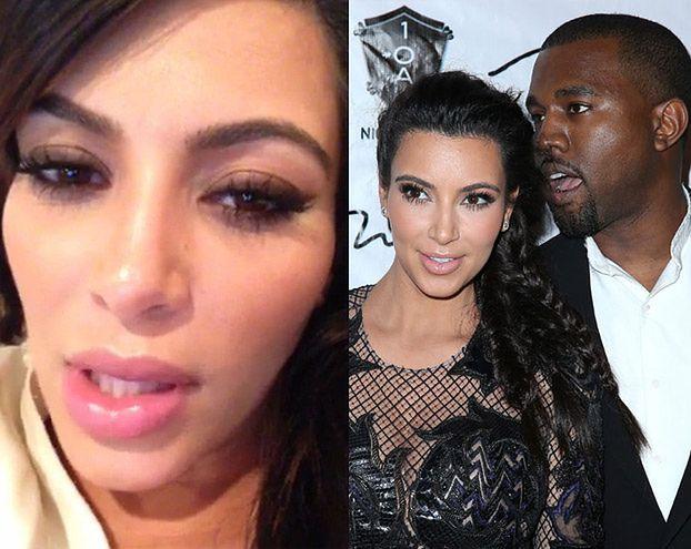"""Kim: """"Od hormonów POWIĘKSZYŁY mi się USTA"""""""