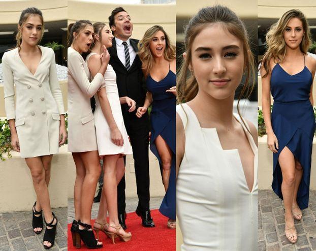 Córki Sylvestra Stallone'a przygotowują się do Złotych Globów (ZDJĘCIA)