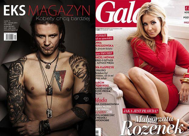 """Rozenek i Majdan SZYKUJĄ WSPÓLNĄ OKŁADKĘ! W """"Vivie"""" czy w """"Gali""""?"""