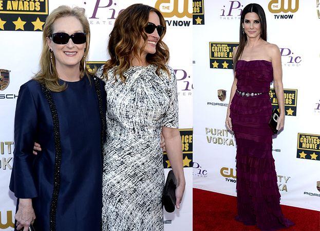Bullock, Streep i Roberts na Critics Choice Movie Awards! (ZDJĘCIA)
