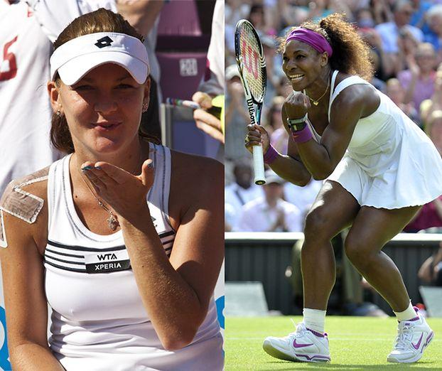 Radwańska kontra Serena Williams! (ZDJĘCIA)
