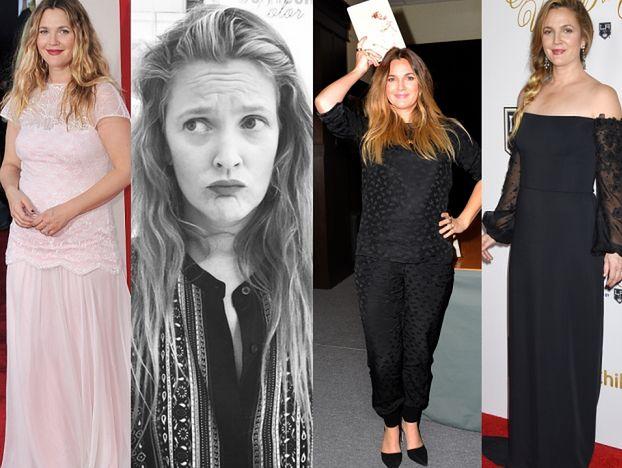 Drew Barrymore schudła 10 kilogramów! Wygląda lepiej? (ZDJĘCIA)