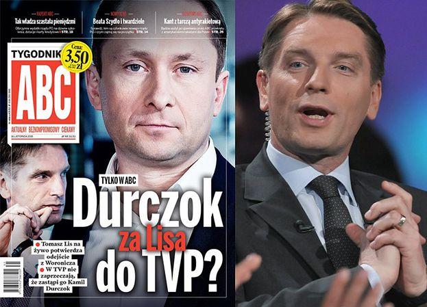 """Tygodnik """"ABC"""": """"Durczok zastąpi Lisa w TVP?"""""""
