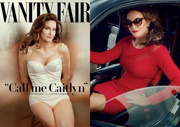 """Ojczym Kim JAKO KOBIETA na okładce """"Vanity Fair"""": """"Mówcie mi Caitlyn!"""""""