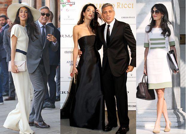 """Oscar de la Renta: """"Amal zostanie ikoną mody"""""""