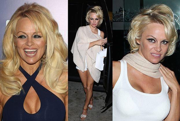 47-letnia Pamela przed i w trakcie imprezy... (ZDJĘCIA)