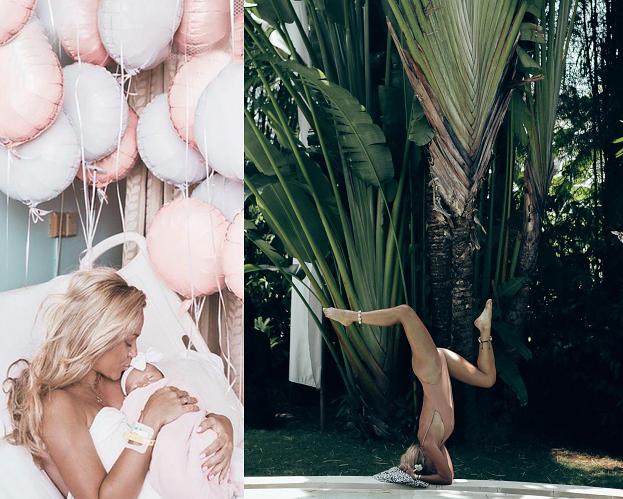 """Anna Skura uzewnętrznia się i pokazuje zdjęcia po porodzie: """"Walczyłam o to, żeby urodzić naturalnie przez 27 godzin"""""""