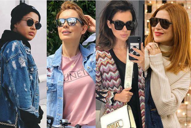 Jakie czarne okulary wybierają celebrytki?