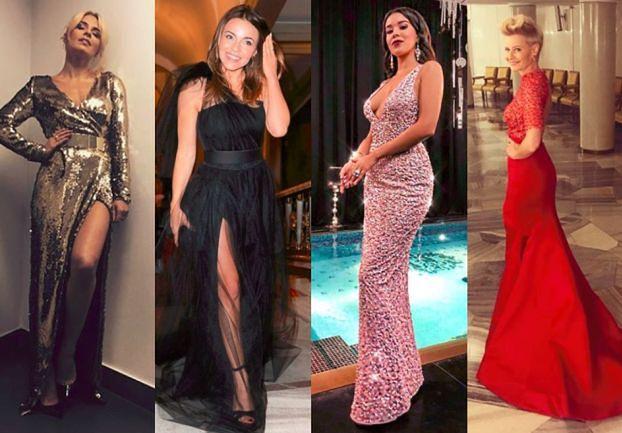 Długie suknie wieczorowe - jakie wybierają gwiazdy?